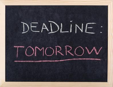 deadlines are bad